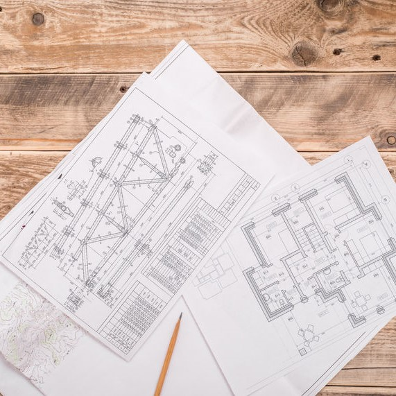 drawing out flooring plans and home designs